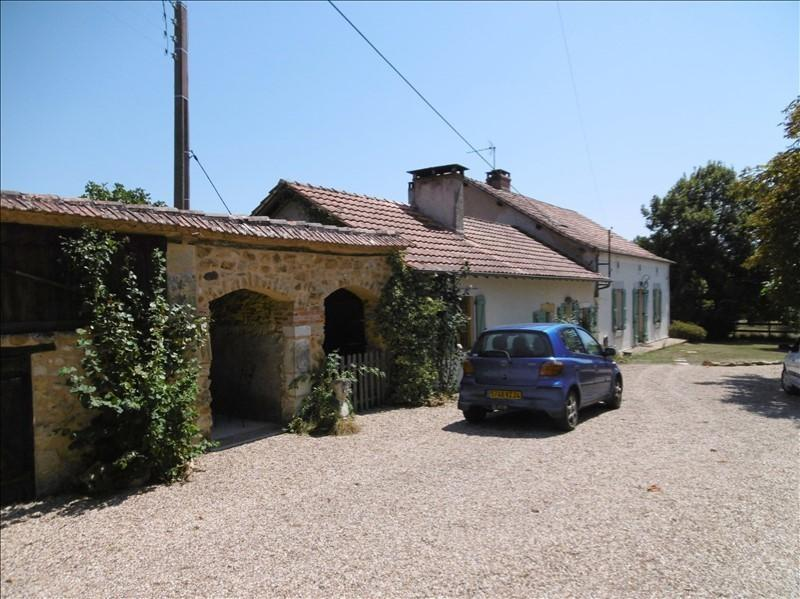 3 bed stone house with pool