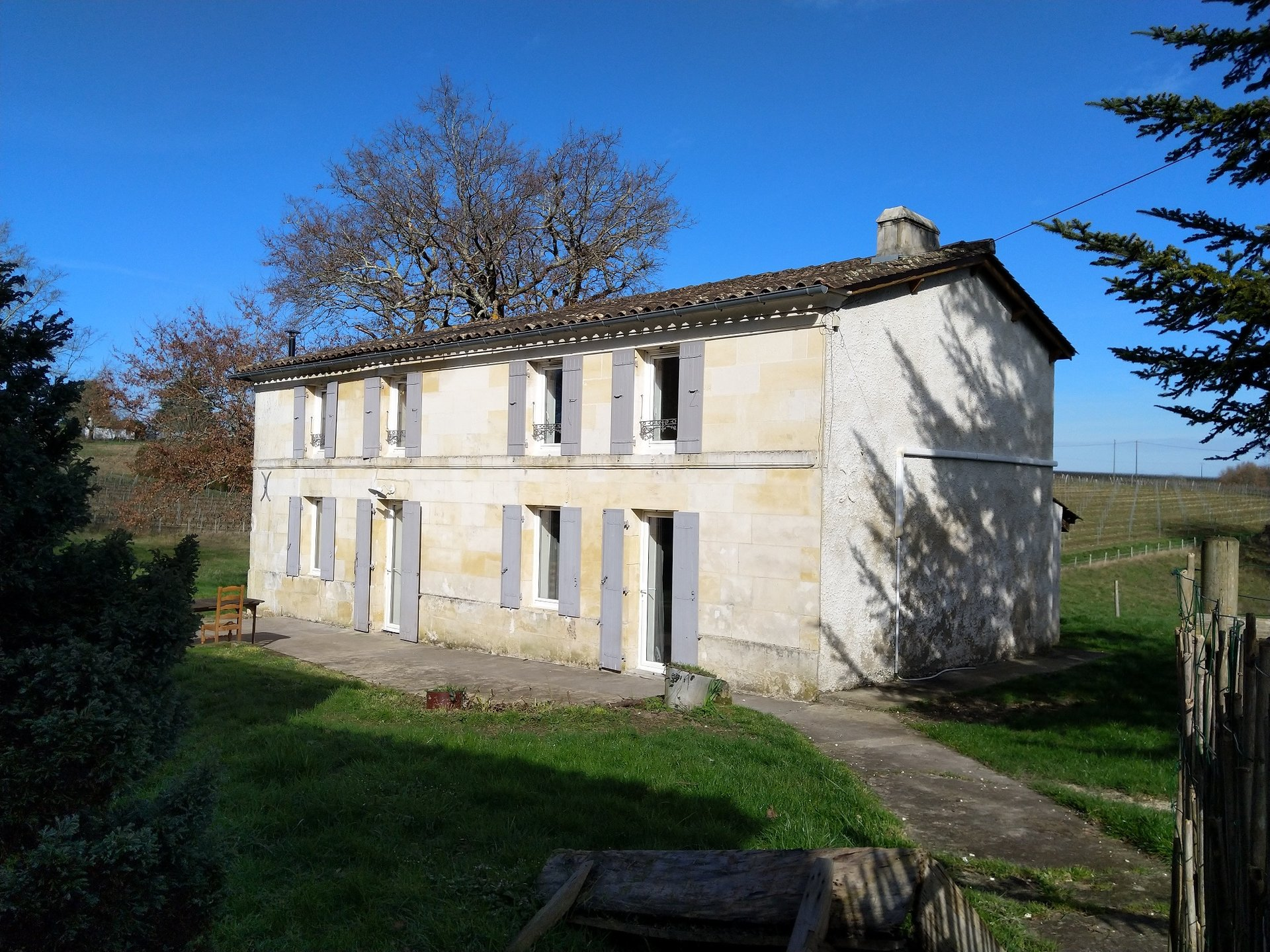 Stunning four bed main house, two rental properties, two barns and over a hectare of land.