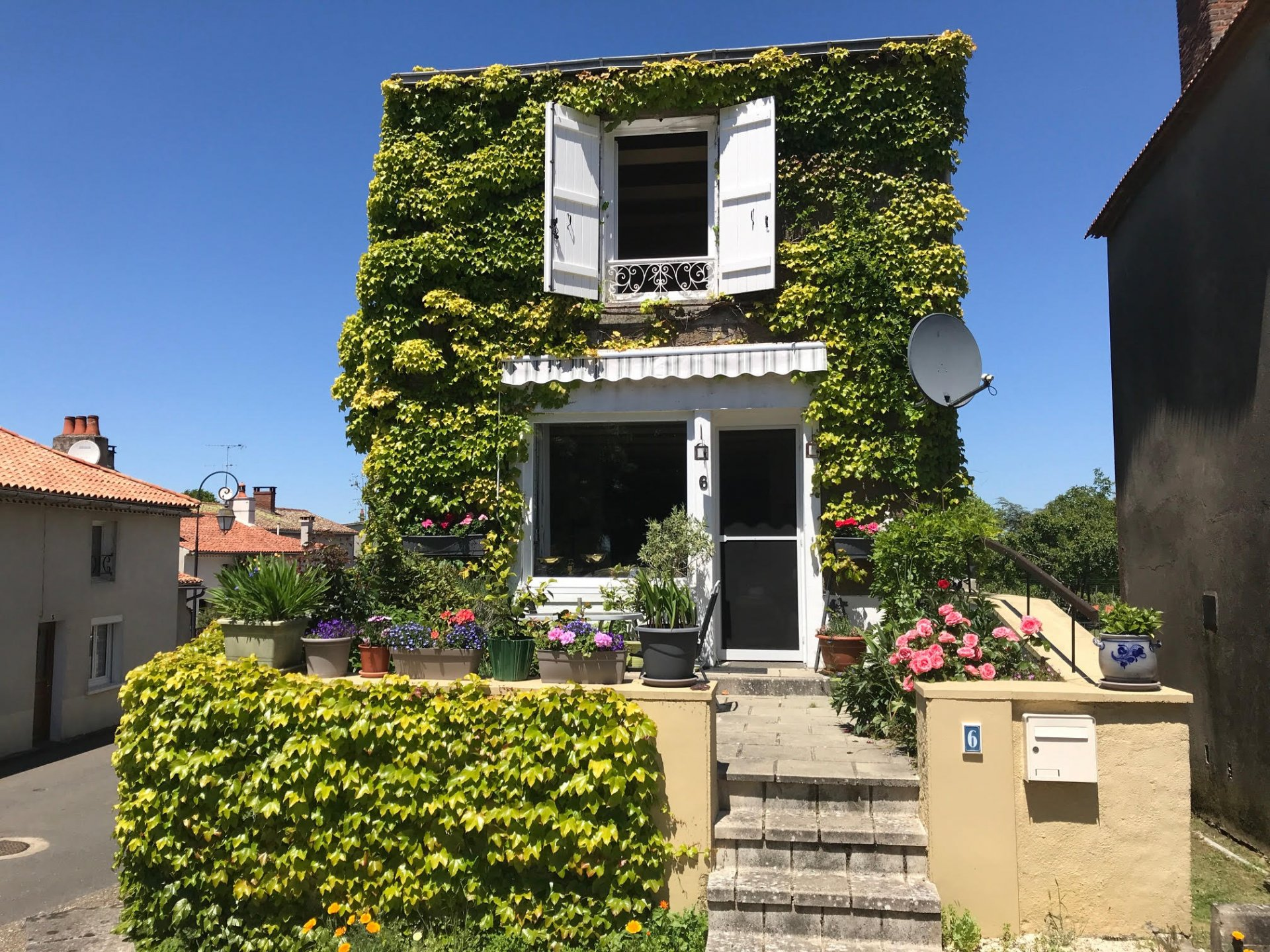 Ideal village holiday home