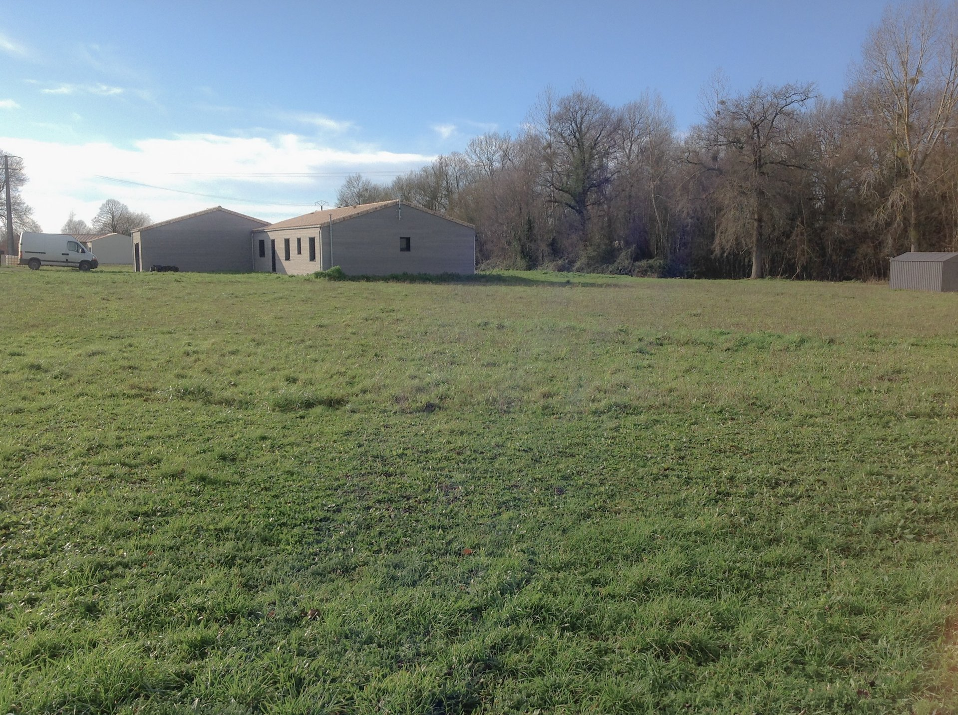 Land with planning 1860m²