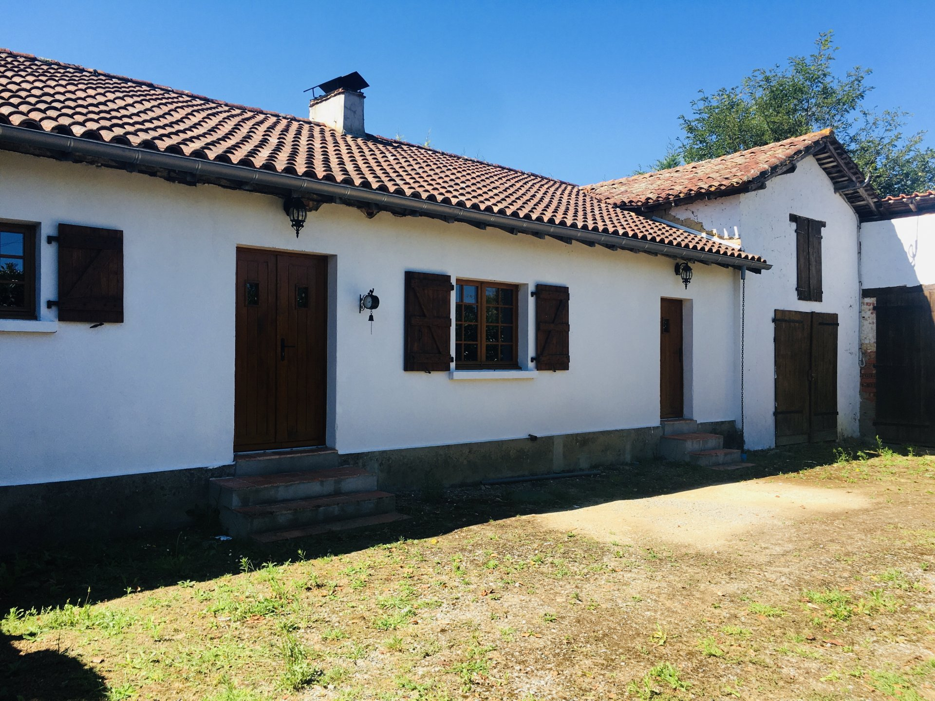 18th century country house in the Chalosse