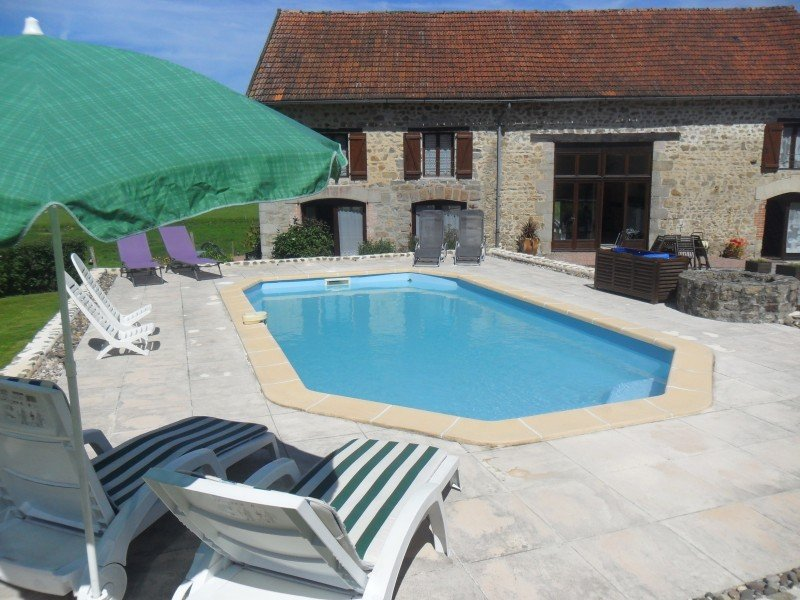 Four luxury gites PLUS separate owners accommodation, in ground swimming pool and gardens
