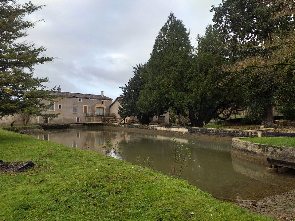 Watermill with land in need of modernisation
