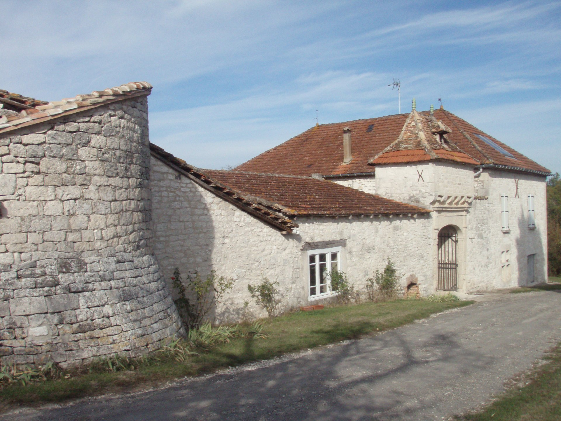 Historic chateau with lots of potential!