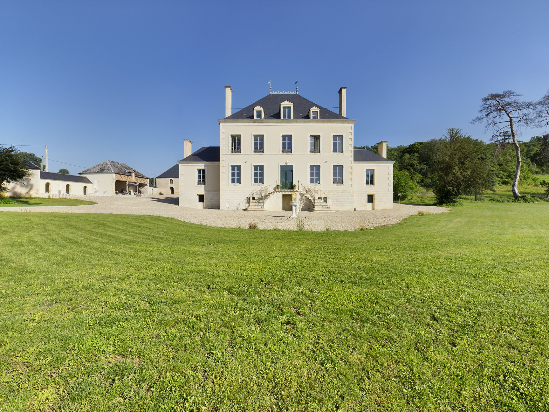 Beautiful 19th century eco friendly Chateau set in 3.1 hectares of garden