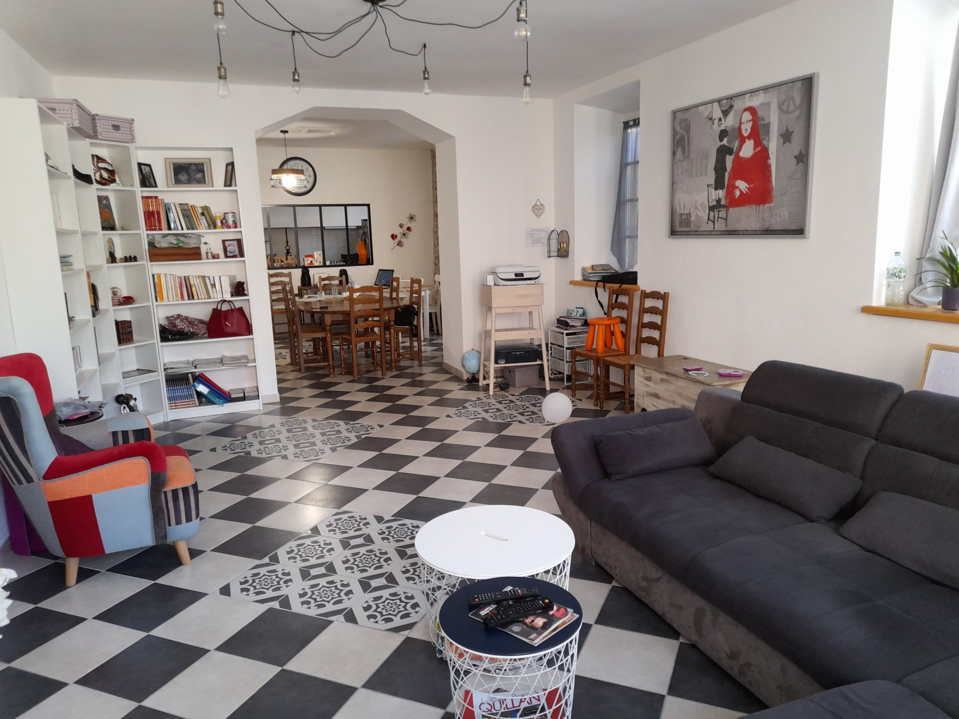 Large renovated townhouse with lots of character