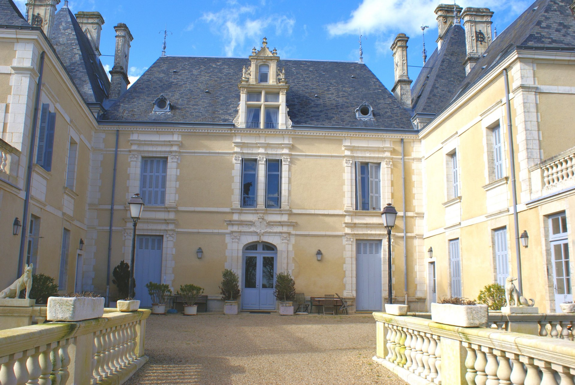 Duplex apartment in a historic chateau