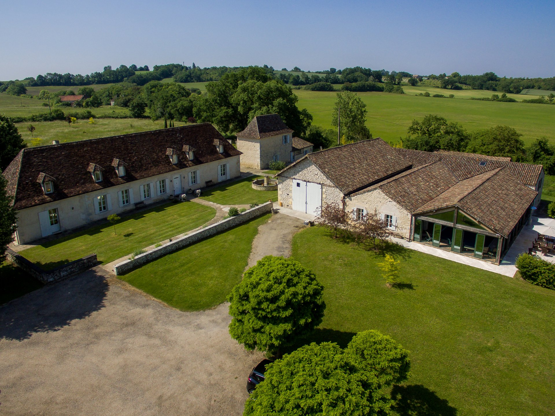 Outstanding Manor House with Gites and a Leisure Complex