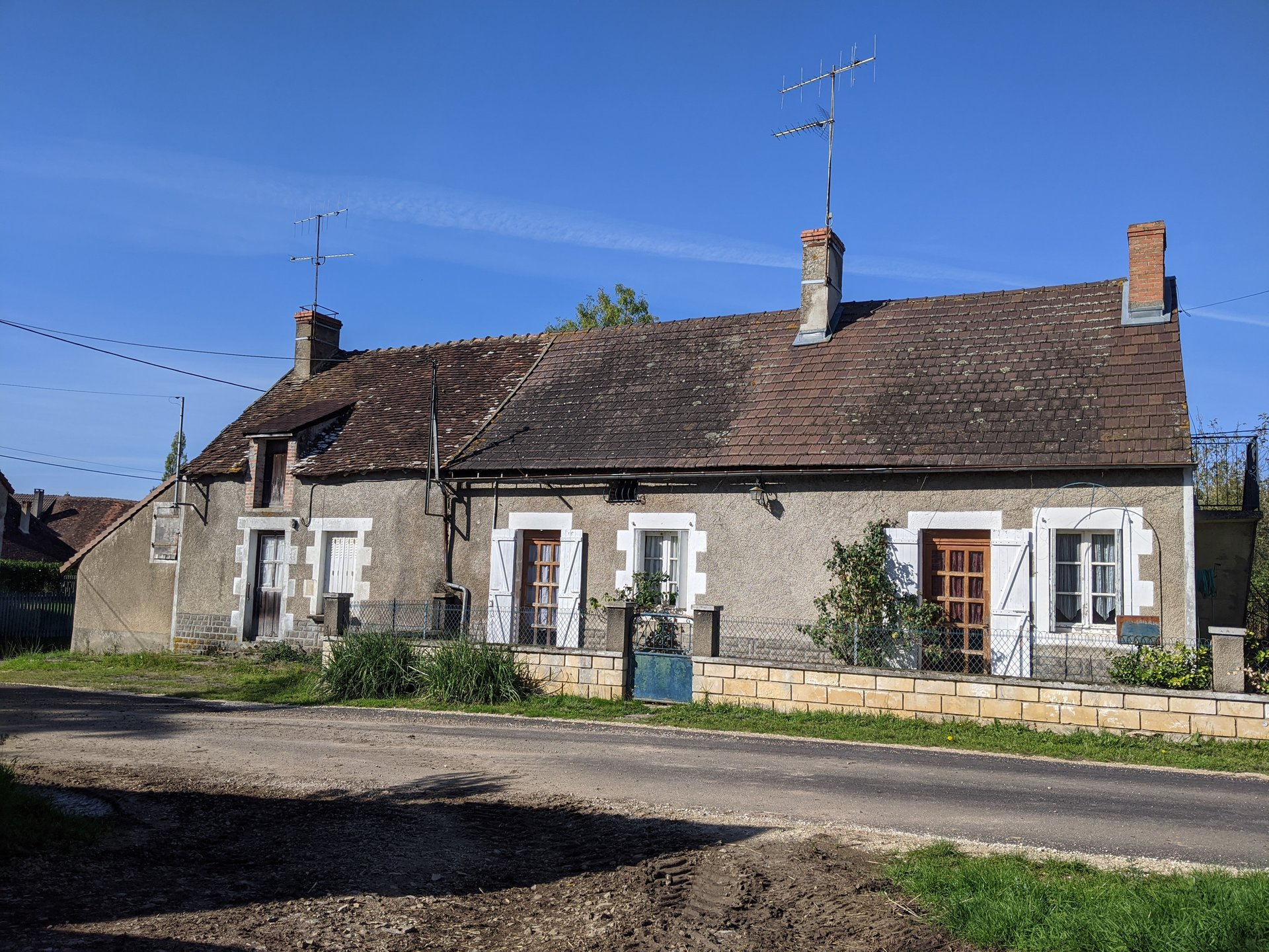 Pretty village house in need of renovation