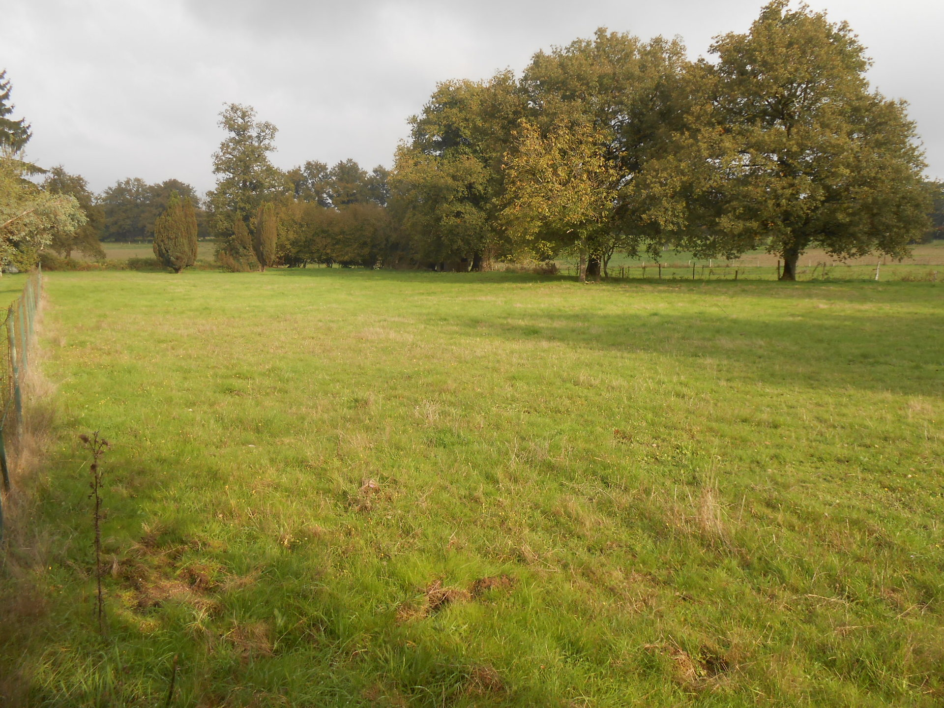 Building plot of 2,650m² on the edge of a hamlet