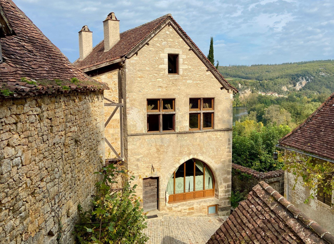 Spectacular views from an extraordinary property in the heart of this popular, medieval village.