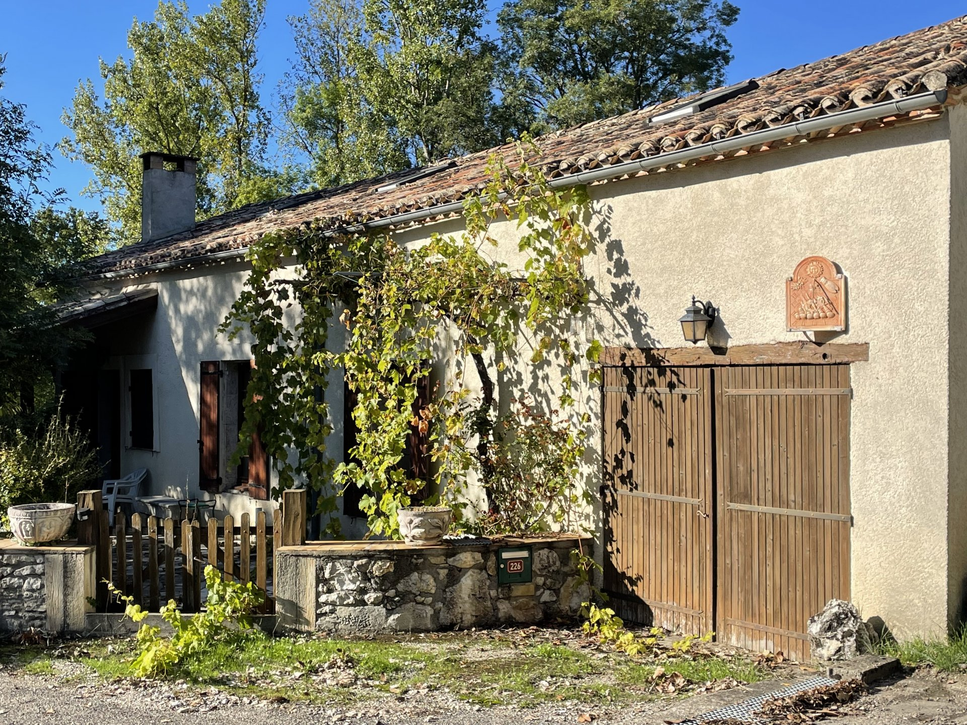 Stone house in charming hamlet