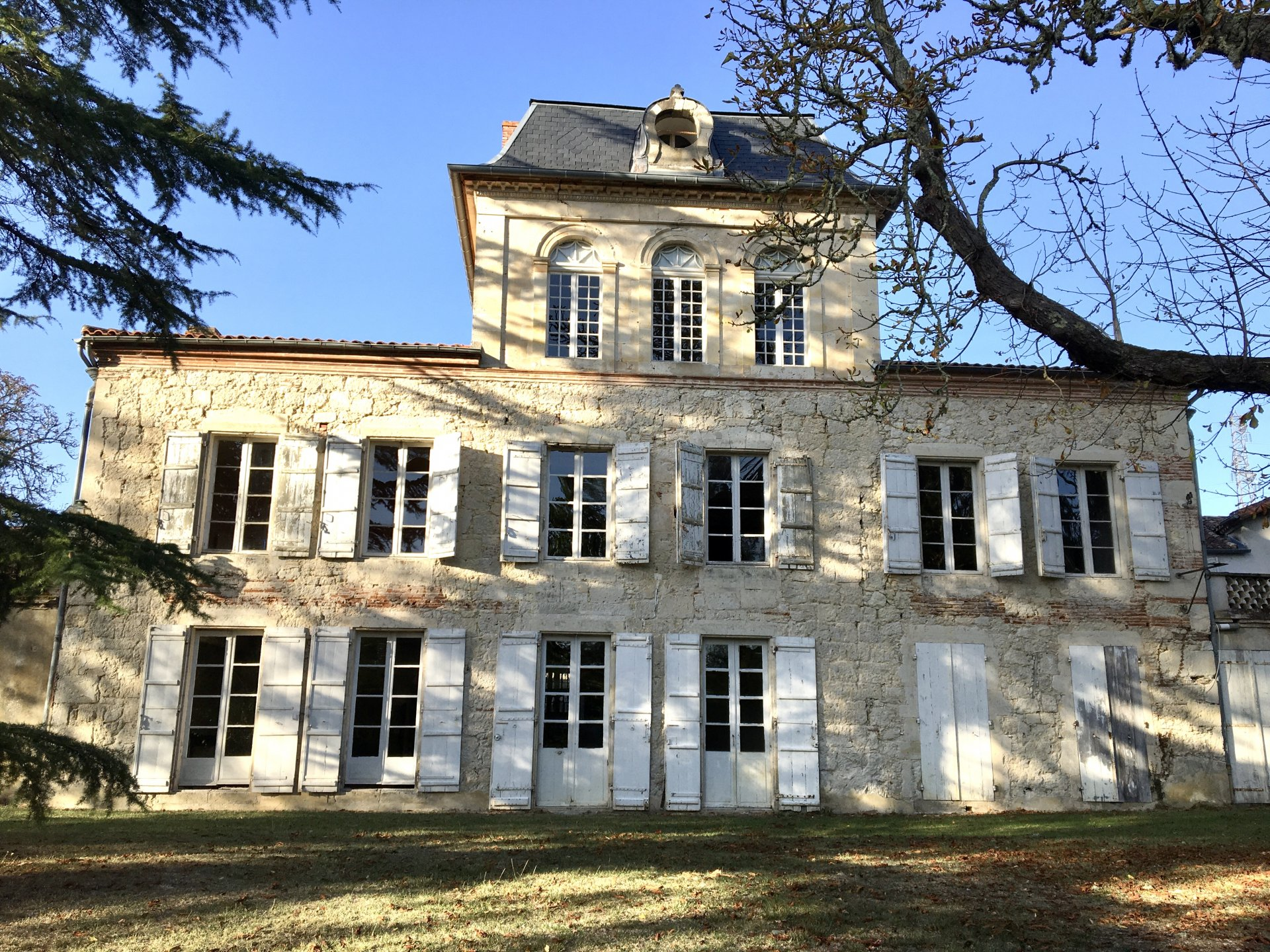 Beautiful Château waiting for some love and restoration