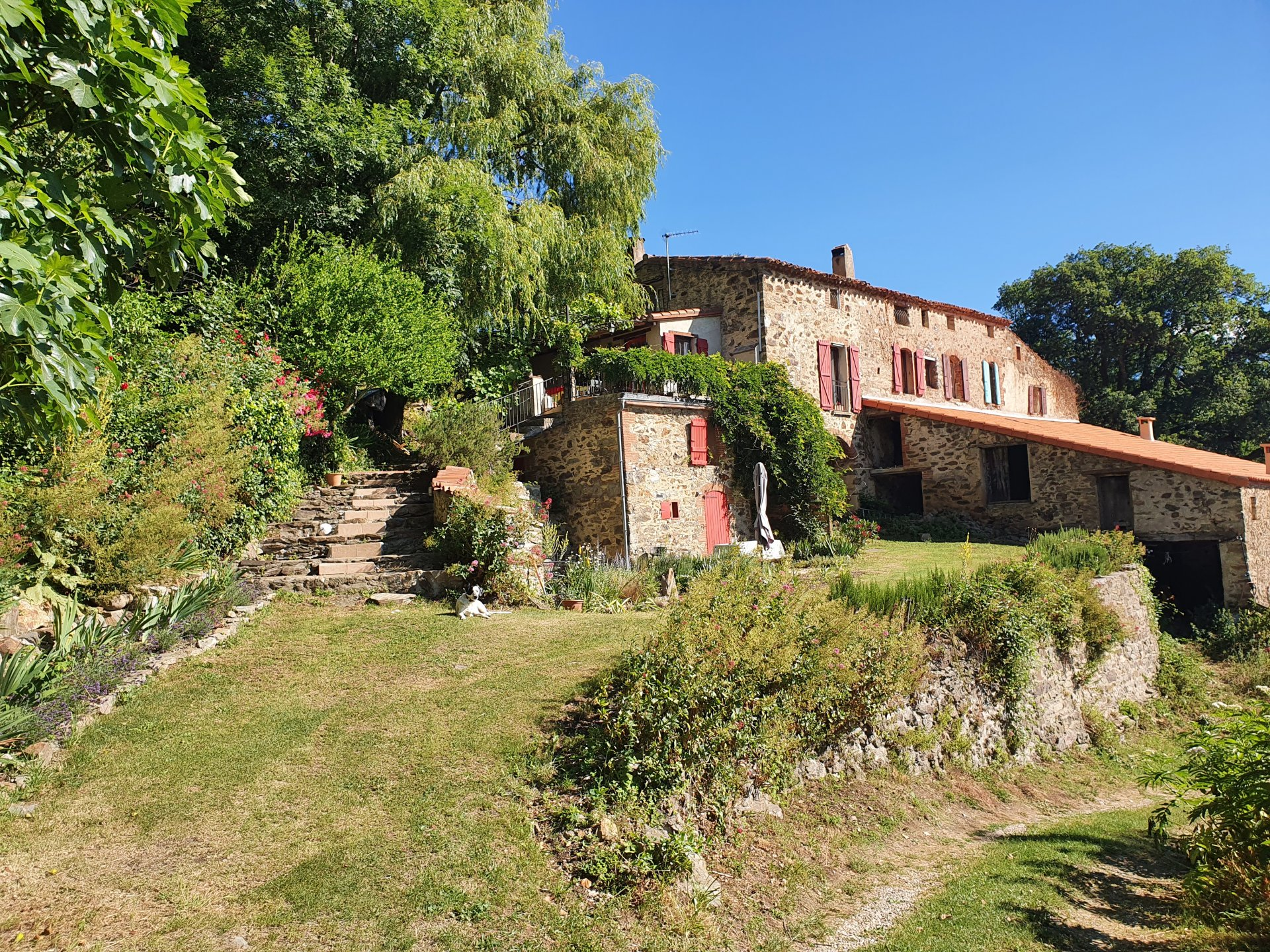 COUNTRY PROPERTY WITH GITE ON 2.5 ACRES, SAINT MARSAL