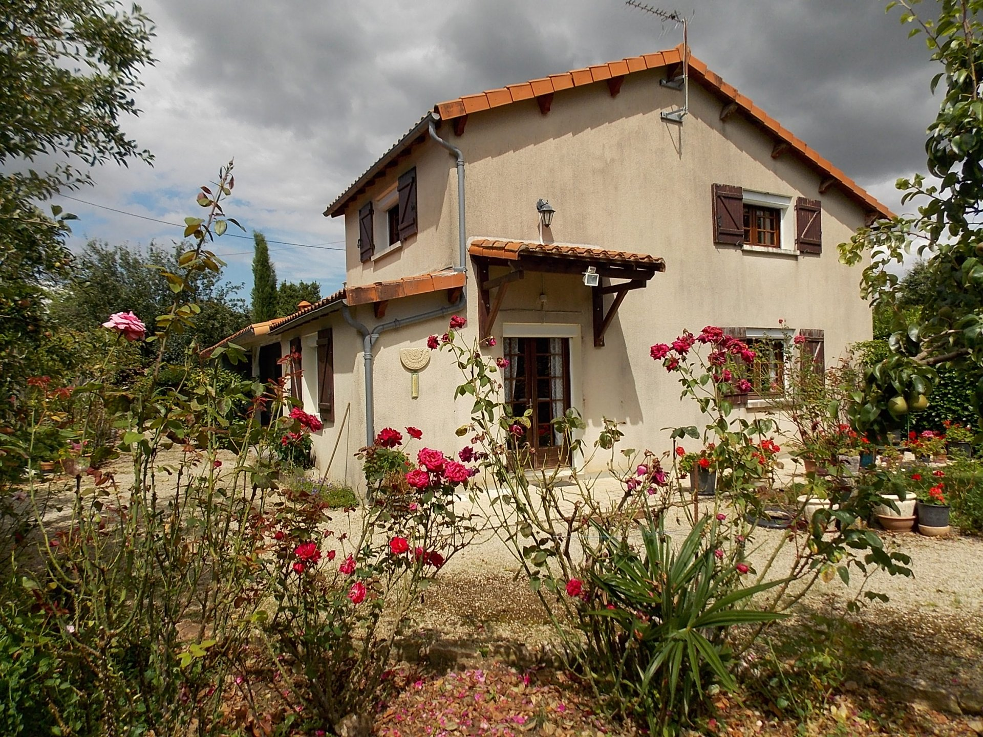 Detached, private home with delightful gardens