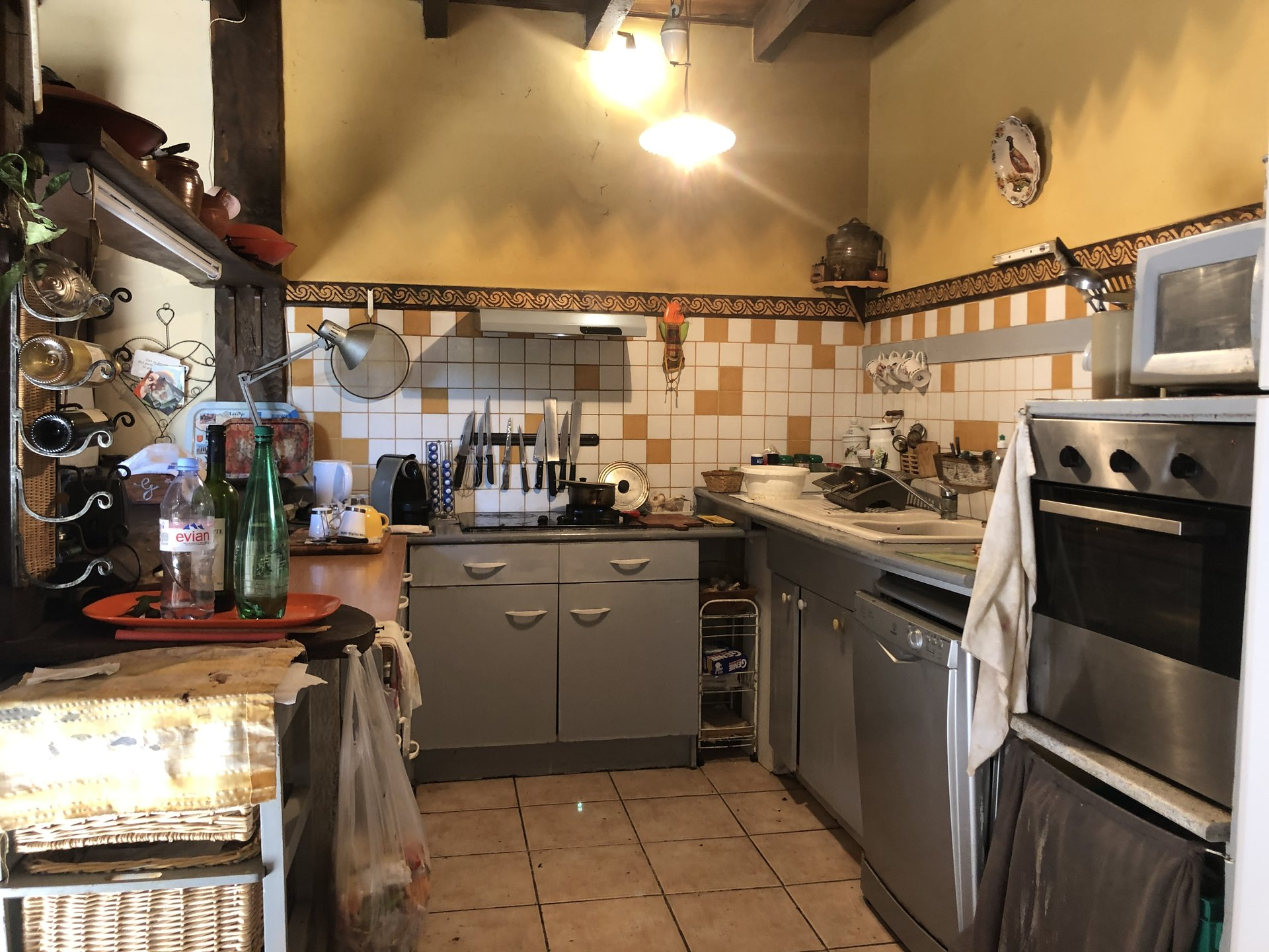 Authentic and attractive stone property in the heart of a village