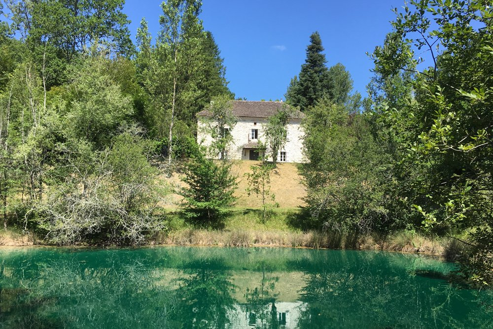 18th Century Manoir with two Private Fishing Lakes