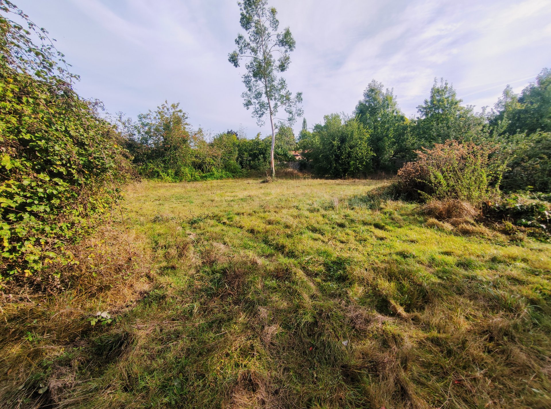 Plot of land with building permission