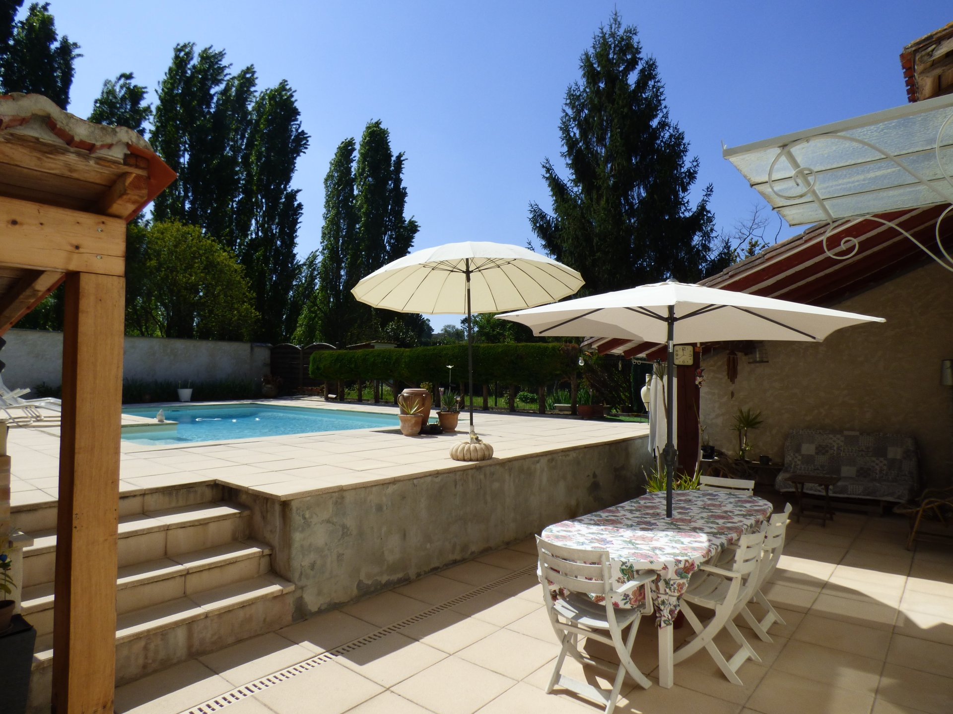 Tastefully renovated 6 Bedroom stone village house with pool.